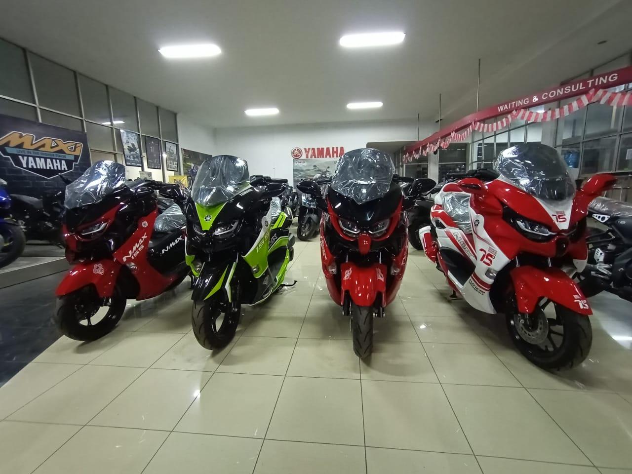 Yamaha All New Nmax Predator Gagah dan Elegant
