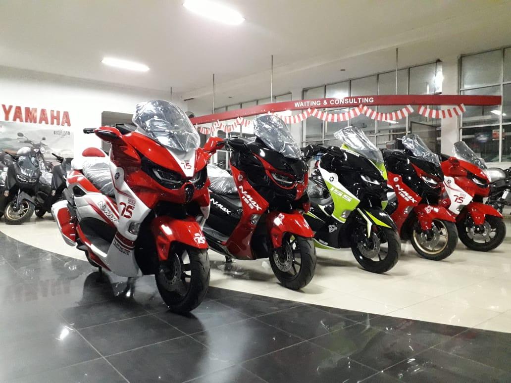 Yamaha All New NMAX Predator Bisa Dibawa Pulang Cicilan Perbulannya Cuma Rp 1,5 Jutaan