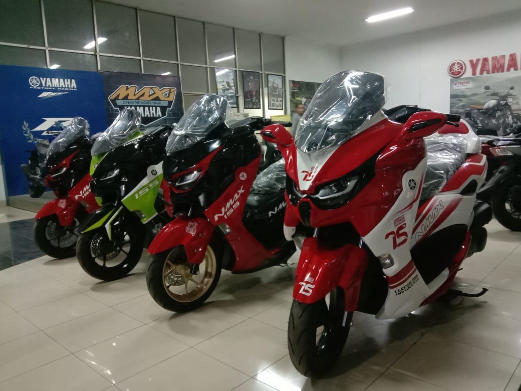 Kota Kota Besar Jawa Barat Ready Yamaha All New Nmax Predator Bisa Order Disini